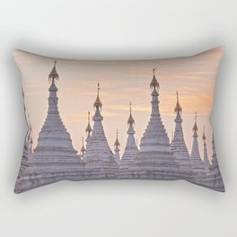 Sandamani Pagoda, Mandalay, Myanmar Rectangular Pillow