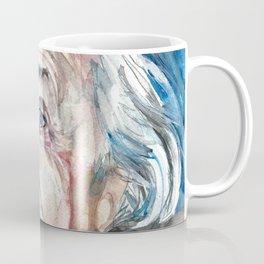 ALBERT EINSTEIN - watercolor portrait Coffee Mug