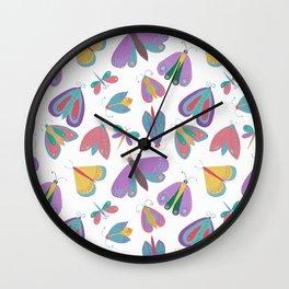 Mariposas Wall Clock