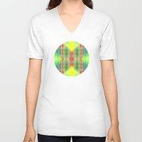 mod V-neck T-shirts featuring Mod Squad by Vikki Salmela