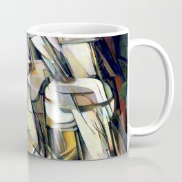 Marcel Duchamp Nude Descending a Staircase Coffee Mug