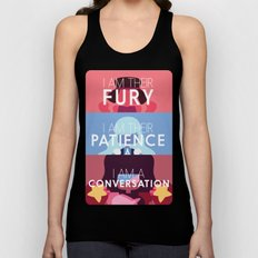 Fury/Patience/Conversation Unisex Tank Top