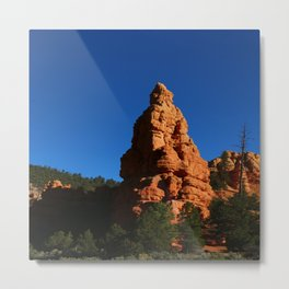 Red Rock Canyon Rockformation Metal Print