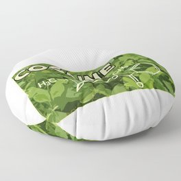 Drug Drugs Molecular Chain Gift Idea Floor Pillow