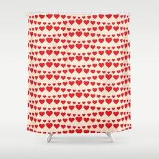 C13D HEARTWAVE Shower Curtain