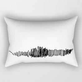 Phonetic - Singular #494 Rectangular Pillow