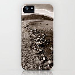 Salton Sea Shore iPhone Case