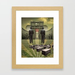 The Ivory Tower Framed Art Print