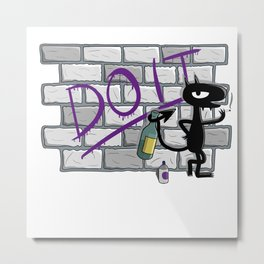 Do it wall Metal Print