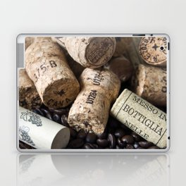 COFFEE CHAMPAGNE CORK Laptop & iPad Skin