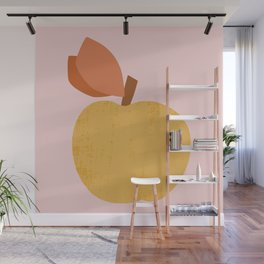 Yellow Apple Wall Mural