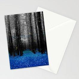 Firefly-blue Stationery Cards