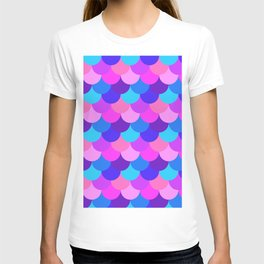 Scalloped Confetti in Electric Orchid Multi T-shirt