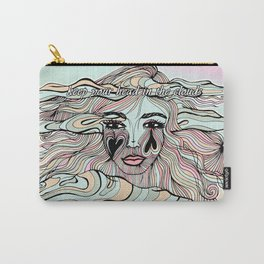 Keep Head in the Clouds, Dreamy Illustration Carry-All Pouch