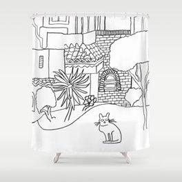 Garden Of Malaga Shower Curtain