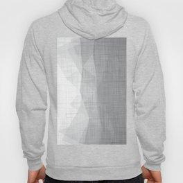 In The Flow - Geometric Minimalist Grey Hoody