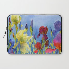 Blue Skies and Happiness Laptop Sleeve