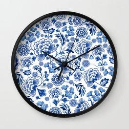Porcelain Wall Clock