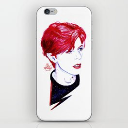 The Stars Look Very Different Today // Bowie iPhone Skin
