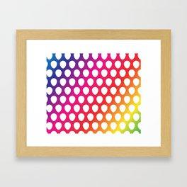 Balloon Pattern Framed Art Print