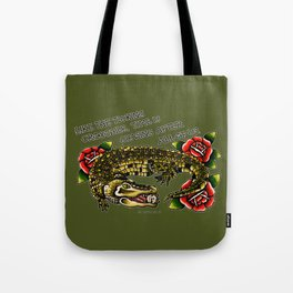 Time is Chasing After all of Us. Tote Bag