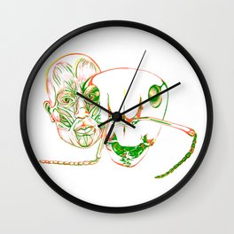 The Metamorphosis Wall Clock