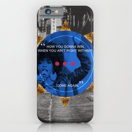 Lauryn Hill tribute  iPhone Case