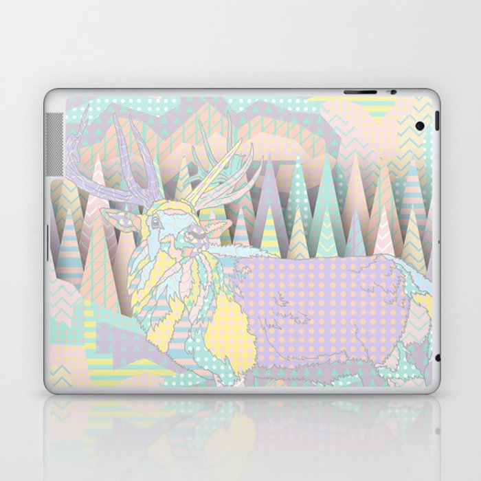 Deer Forest Laptop & iPad Skin