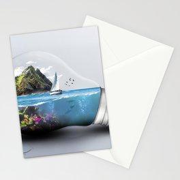Lightbulb World Stationery Cards