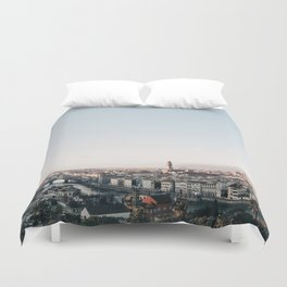 Florence Skyline Duvet Cover