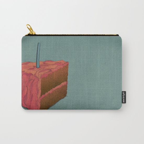 Happy Birthday (Pink)  Carry-All Pouch