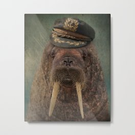 Barnacle Bill Metal Print