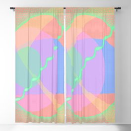 Astract Spring Blackout Curtain