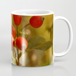 Dog Rose Eglantine Plant Coffee Mug