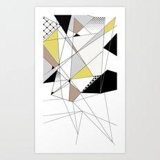 lines 3 Art Print