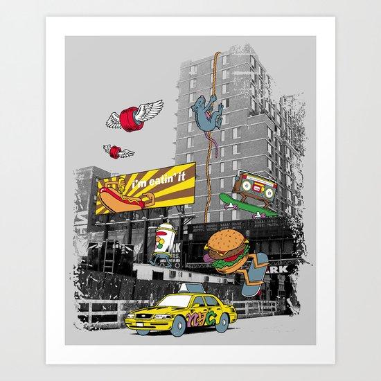 N Y C Art Print
