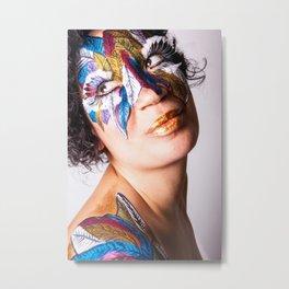 Anita Feather III. Metal Print