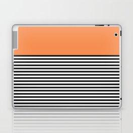 STRIPE COLORBLOCK {ORANGE} Laptop & iPad Skin