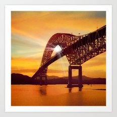 Pan-American Bridge Art Print