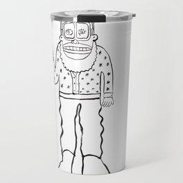Peace Dude Travel Mug