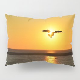 Icarus Vacationing in San Diego, California Pillow Sham