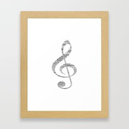 Sol key Framed Art Print