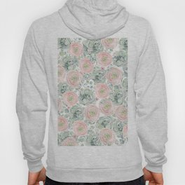 Flowers And Succulents White  #buyart #decor #society6 Hoody
