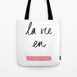 La Vie en Rose x Telma W. Tote Bag