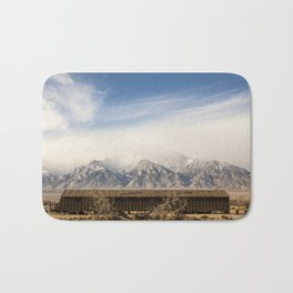 Manzanar Internment Camp, Highway 395, Independence, CA Bath Mat