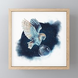 A Midnight Wish Framed Mini Art Print
