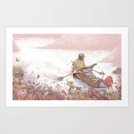 Beautiful adversity Art Print