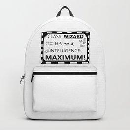 Wizarding Diploma Minus Infinity HP and Maximum Intelligence Backpack