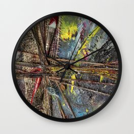 #ArtLeak Wall Clock