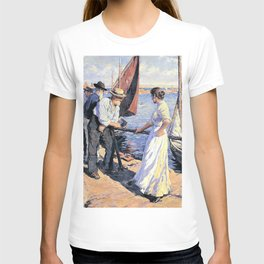 12,000pixel-500dpi - The pier head - Stanhope Alexander Forbes T-shirt